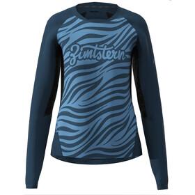 Zimtstern TechZonez LS Shirt Women heritage blue/french navy